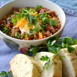 Turkey and Pinto Bean Chili Recipe