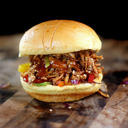 Unique Pulled Chicken Sliders