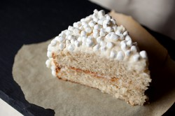 Vanilla Bean Marshmallow Cake Recipe