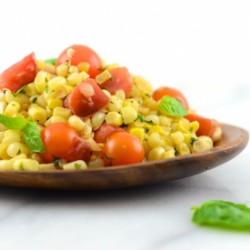 Vegan Corn and Tomato Salad