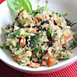 Vegetable Stir Fry with Quinoa