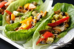 Vegetarian Lettuce Wraps Recipe