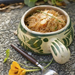 Vermicelli Noodles Stir Fried with