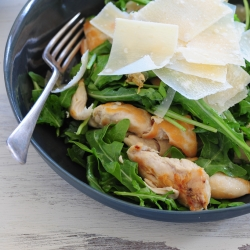 Warm Chicken and Parmesan Salad Recipe
