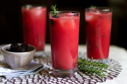Watermelon-Rosemary Lemonade