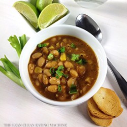 White Bean Chili with Peppers