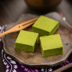 White Chocolate Truffle with Matcha Green Tea Powder Recipe