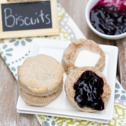 Whole Grain Fluffy Biscuits