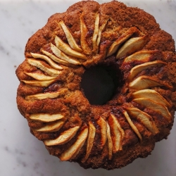 Whole Wheat Cinnamon Apple Coffee Cake Recipe