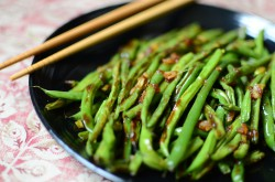 Wrinkled Asian-Style Green Beans