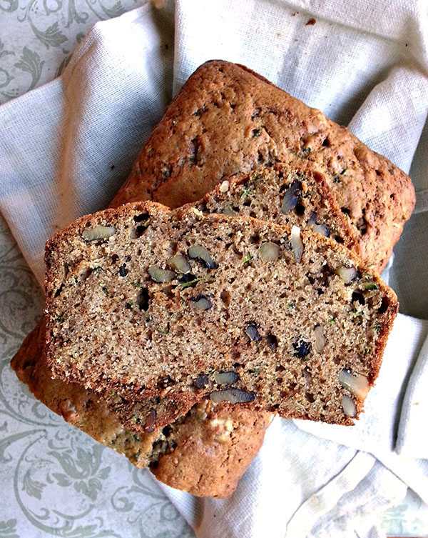 Zucchini Bread with Walnuts Recipe