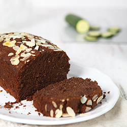 Zucchini Chocolate Almond Cake Recipe