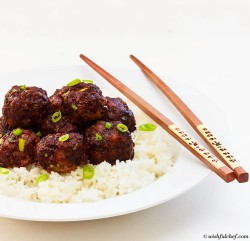 Asian Pork Meatballs Recipe