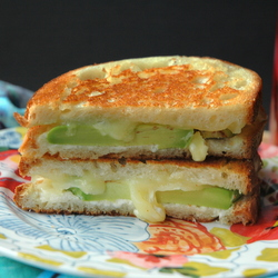 Avocado Cheddar Grilled Cheese