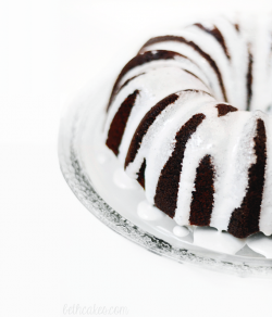 Bailey Irish Cream Chocolate Cake with Marshmallow Drizzle Recipe