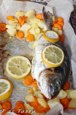 Baked Gilthead Sea Bream