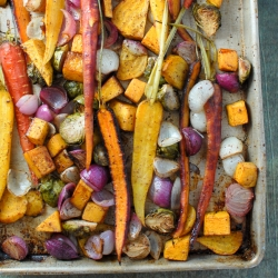 Balsamic Roasted Fall Vegetables Recipe