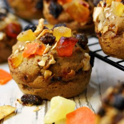 Banana Bread Trail Mix Muffins