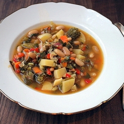Bean Swiss Chard Soup