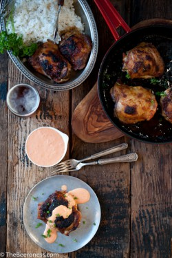 Beer Brined Paprika Chicken with IPA Red Pepper Cream Sauce Recipe