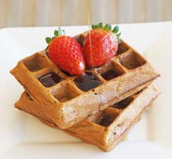 Berry Healthy Waffles