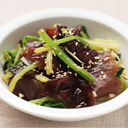 Black Fungus and Celery Salad