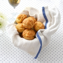 Blue Cheese Gougeres Recipe
