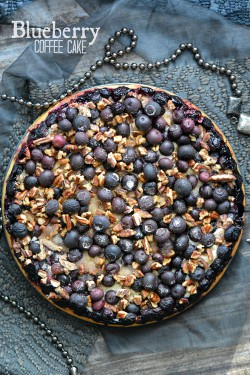Blueberry and Pecan Coffee Cake Recipe