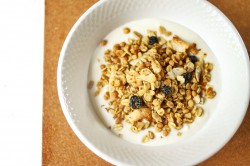 Blueberry Coconut Granola