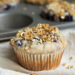 Blueberry Muffins w/o Refined Sugar