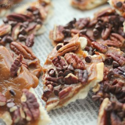 Bourbon Maple Pecan Christmas Crack Recipe