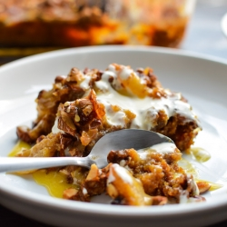 Bread Pudding with Brandy Sauce Recipe