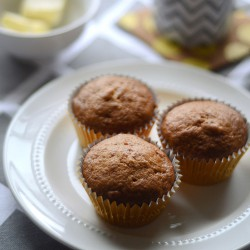 Brown Butter Banana Muffins