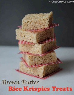 Brown Butter Rice Krispies Treats Recipe
