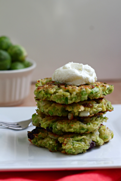 Brussels Sprout Fritters Recipe