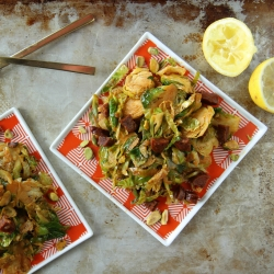 Brussels Sprouts with Chorizo Recipe