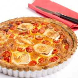 Buckwheat Quiche with Goat Cheese