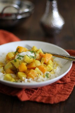 Butternut Squash and Yam Curry Recipe