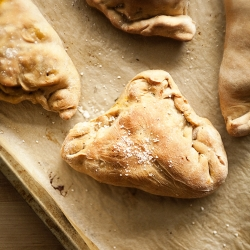 Butternut Squash Apple Calzone