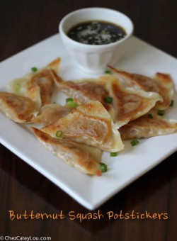 Butternut Squash Potstickers Recipe