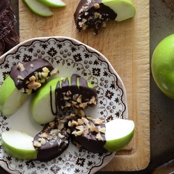 Candy Apple Wedges Paleo Recipe