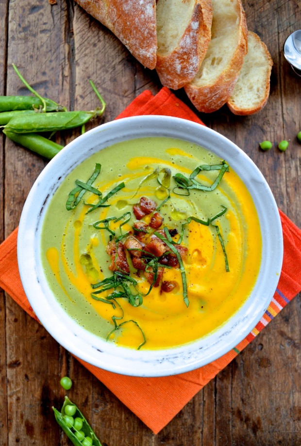 Carrot Pea Soup