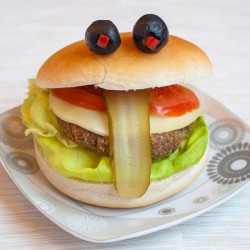 Cheeky Hamburger
