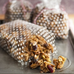 Cherry Pistachio Granola Recipe