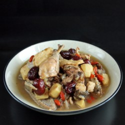 Chicken in Chinese Rice Wine