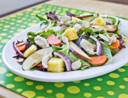 Chicken Pineapple Balsamic Vinaigrette Salad Recipe