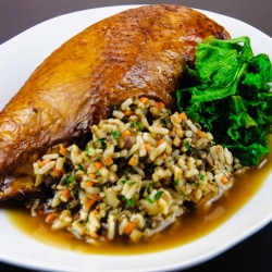Chicken Stuffed with Rice French Recipe