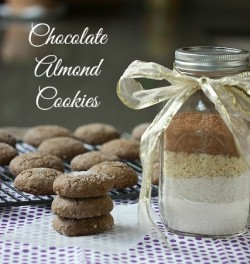Chocolate Almond Cookie Mix for Gifting Recipe