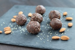 Chocolate Almond Energy Balls Recipe