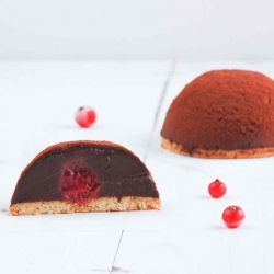 Chocolate and Raspberry Dessert